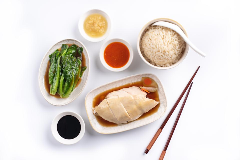 Chicken rice from Boon Tong Kee. (PHOTO: Zouk Group)