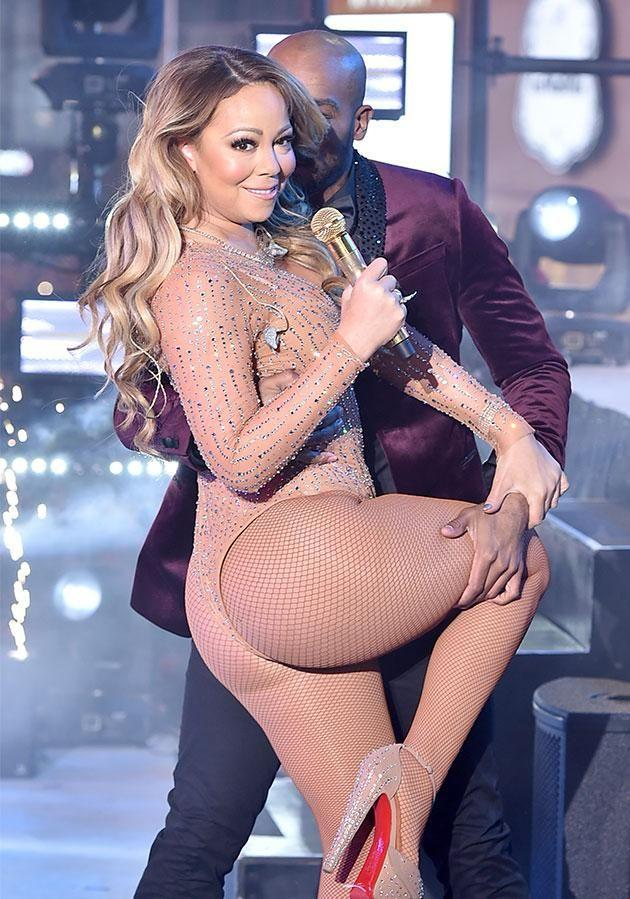 Mariah thanked her fans for being so supportive after her upsetting performance. Photo: Getty Images