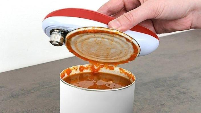 It's time to make the upgrade to an automatic can opener.