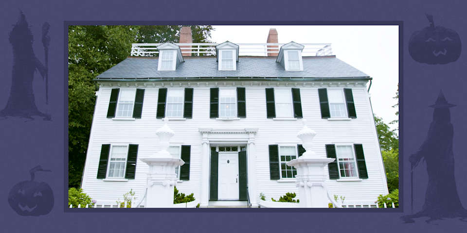 """<p>Tourists in Salem, Massachusetts, might recognize the massive, white Colonial house with black shutters that sits at 318 Essex Street. It's Allison's house from <em>Hocus Pocus</em>, the 1993 Halloween flick that's now reached icon status and plays more than 20 times each October on ABC's Freeform channel. But while fans of the movie might already know that the house is real and not a Hollywood sound stage, they probably didn't know this: It's a museum, and you can visit it <a href=""""https://www.housebeautiful.com/lifestyle/a23741848/hocus-pocus-house/"""" rel=""""nofollow noopener"""" target=""""_blank"""" data-ylk=""""slk:right now"""" class=""""link rapid-noclick-resp"""">right now</a>.<br></p><p>318 Essex St Salem, MA 01970 </p>"""