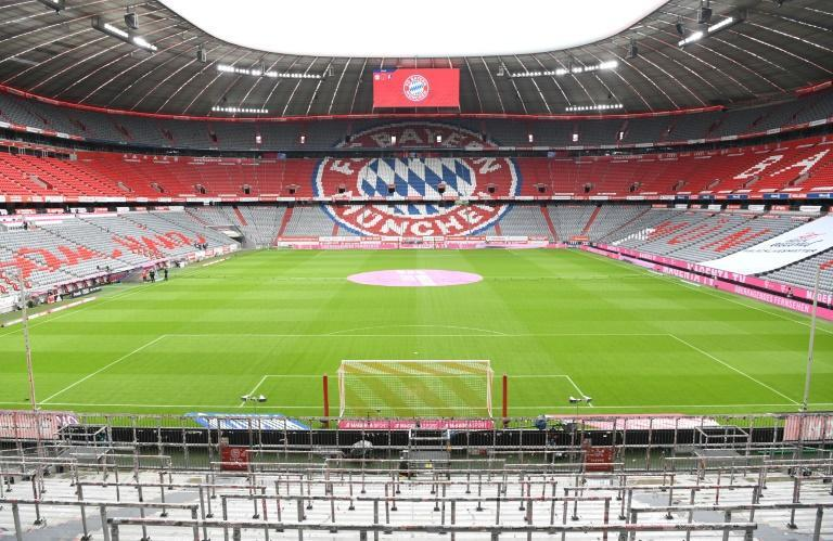 Bayern Munich have not played in front of fans at the Allianz Arena for more than a year