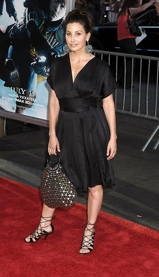 """<a href=""""http://movies.yahoo.com/movie/contributor/1800011452"""">Gina Gershon</a> at the New York premiere of <a href=""""http://movies.yahoo.com/movie/1809791044/info"""">Harry Potter and the Half-Blood Prince</a> - 07/09/2009"""