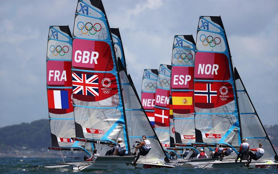 Olympic sailing - GETTY IMAGES