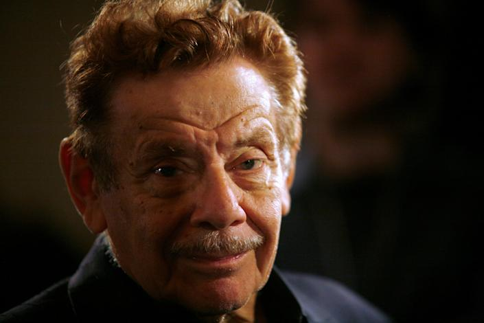 "FILE PHOTO: Actor Jerry Stiller arrives at the American Museum of Natural History for the premiere of the movie ""Night at the Museum"" in New York, U.S. December 17, 2006. REUTERS/Eric Thayer/"