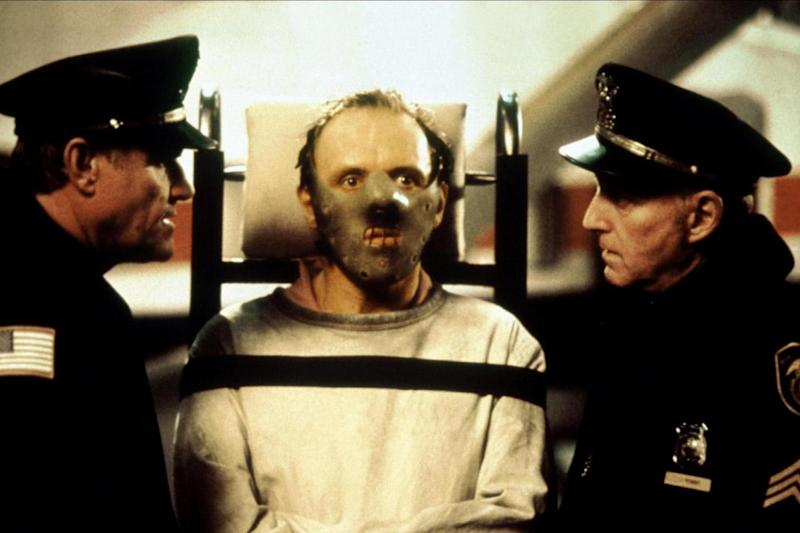 Iconic: Anthony Hopkins as Hannibal Lector in Silence of the Lambs
