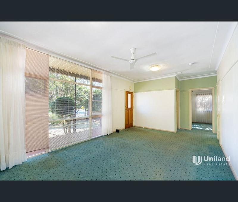 The interior of the house for sale on Castle St, Castle Hill in western Sydney.