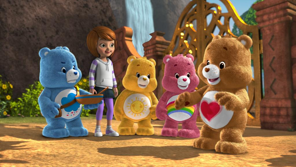 "<b>2012: ""Welcome to Care-a-Lot</b>""<br><br>Looking more like the classic Care Bears of the 1980s, these much furrier CG bears will star in a new children's TV series called ""Welcome to Care-a-Lot"" on The Hub."