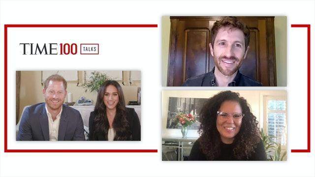 Duke and Duchess of Sussex on TIME100 Talks