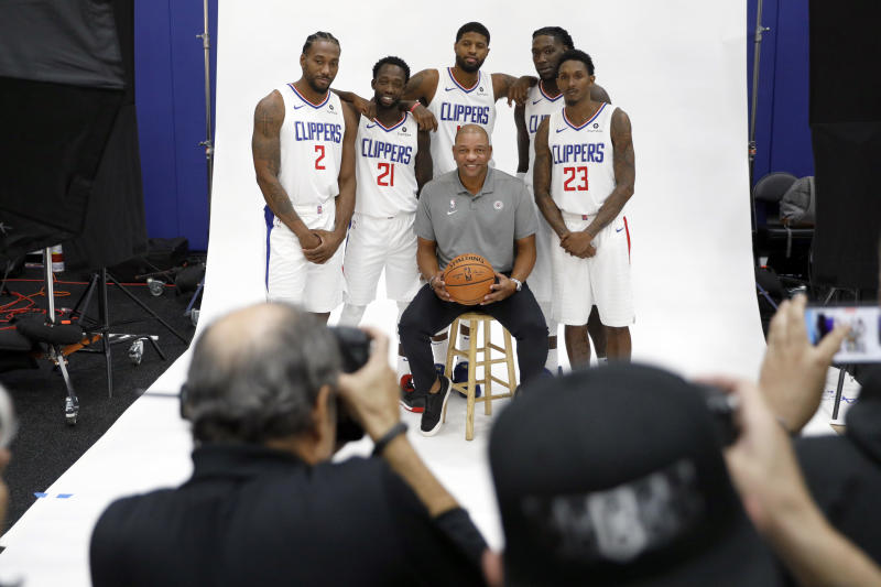 The Clippers not only boast one of the NBA's most talented rosters, but one of its best fitting. (Getty Images)