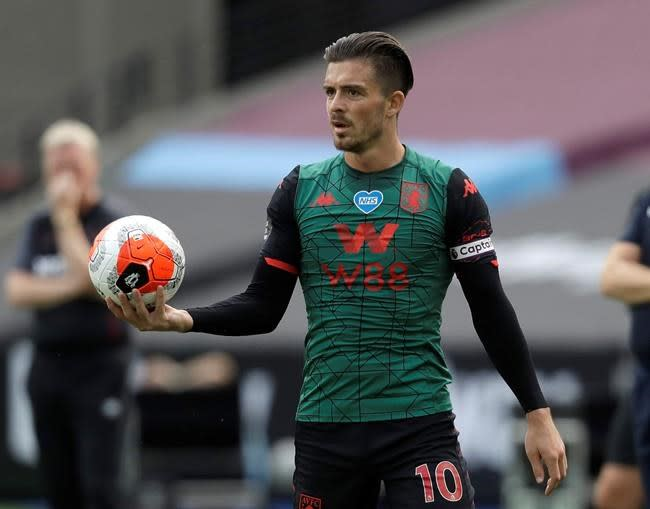 Grealish gets England call-up ahead of Nations League games