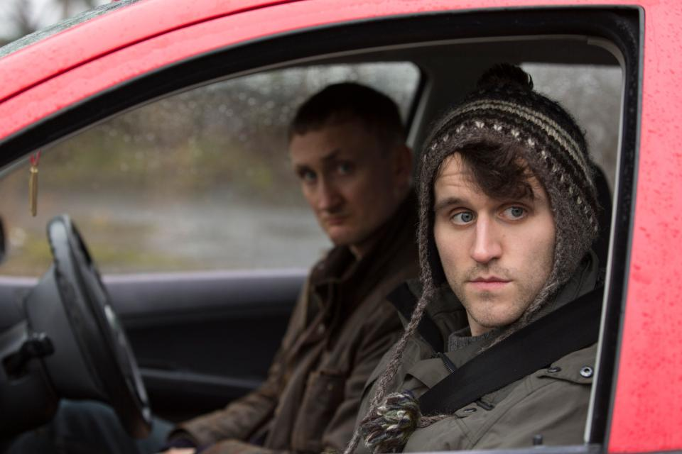 Tom Brooke and Harry Melling in a still from <i>Say Your Prayers</i> (Central City Media)