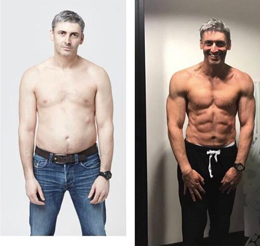 Ben Jackson lost more than 20 pounds and got a six-pack abs in 12 weeks. <em>(Photo: Instagram)</em>