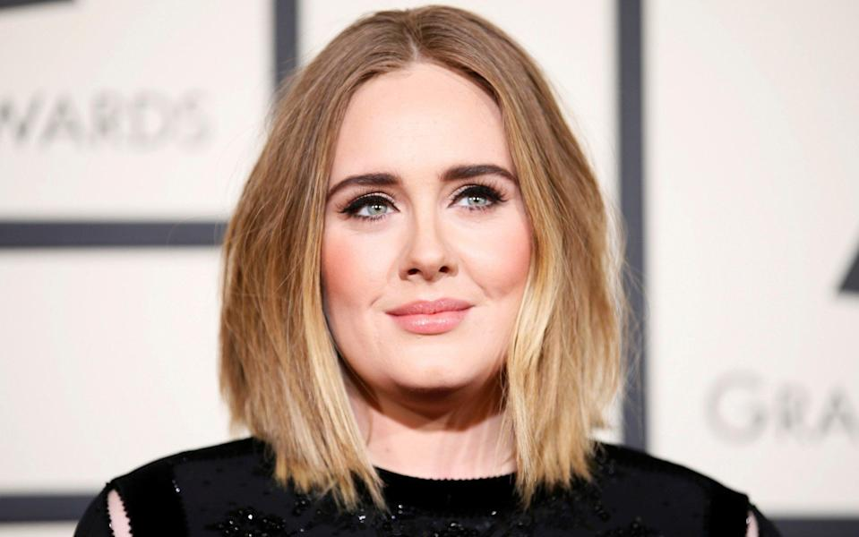 Adele's father, Mark Evans, walked on the family when the singer was three years old - REUTERS/Danny Moloshok/File Photo
