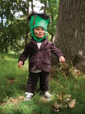 "<div class=""caption-credit""> Photo by: © Raphaël Büchler</div><div class=""caption-title"">Freakin' Cute Frankenstein</div><p> It's easy being green in this simple--and sweet!--little Frankenstein costume. <br> </p> <p> <a href=""http://www.parenting.com/activity-parties-article/Activities-Parties/Crafts/Frankenstein-Halloween-Costume?src=syn&dom=shine"" rel=""nofollow noopener"" target=""_blank"" data-ylk=""slk:See this costume"" class=""link rapid-noclick-resp"">See this costume</a> <br> <a href=""http://www.parenting.com/halloween-central?src=syn&dom=shine"" rel=""nofollow noopener"" target=""_blank"" data-ylk=""slk:Visit Halloween Central"" class=""link rapid-noclick-resp"">Visit Halloween Central</a> </p>"