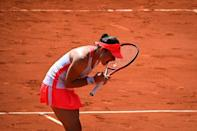Tamara Zidansek was the first player through to this year's French Open semi-finals