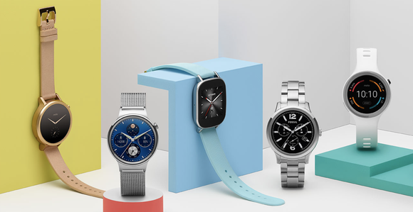 Five Wear OS devices