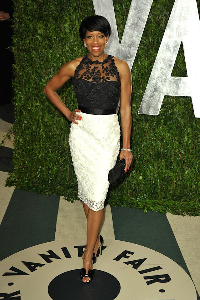 """227"" alum Regina King delivered some fierceness as she made her way into the star-studded Vanity Fair fete."