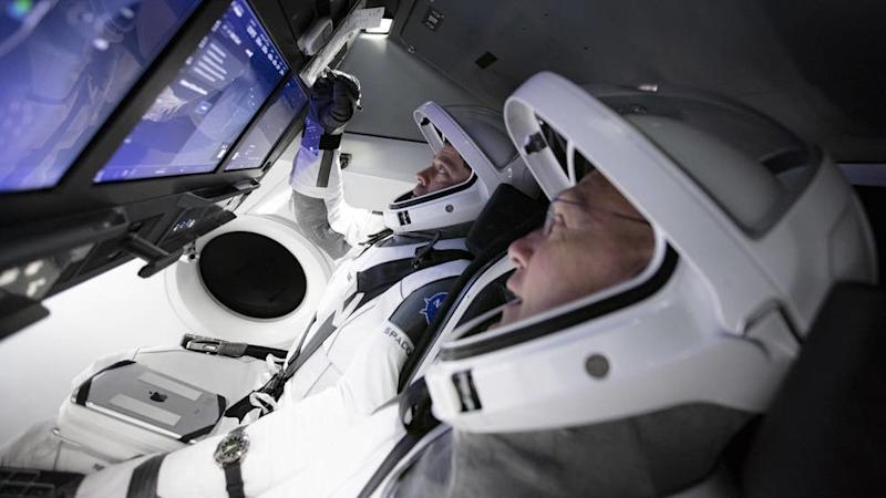 SpaceX Crew Dragon splashdown faces possible weather delay