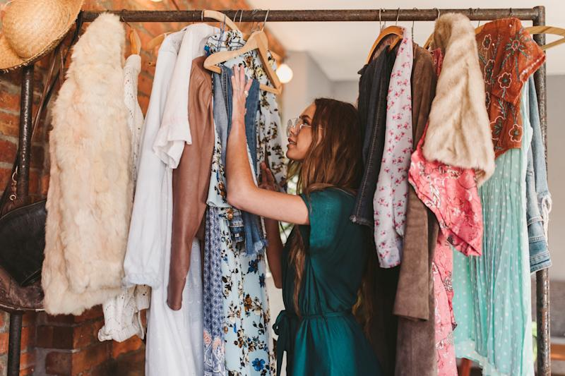 Time to give your closet an upgrade. (Photo: Getty)