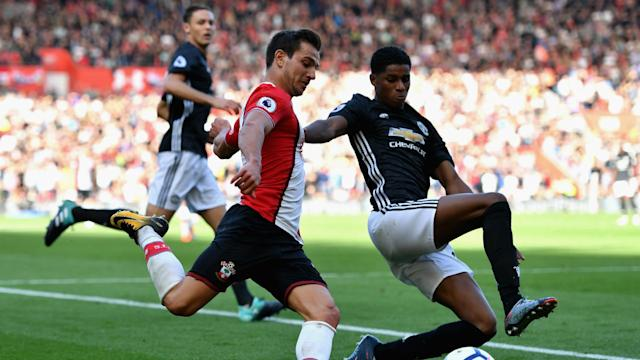 Manchester United went on the defensive for much of their win at Southampton, but manager Jose Mourinho says it was necessary.