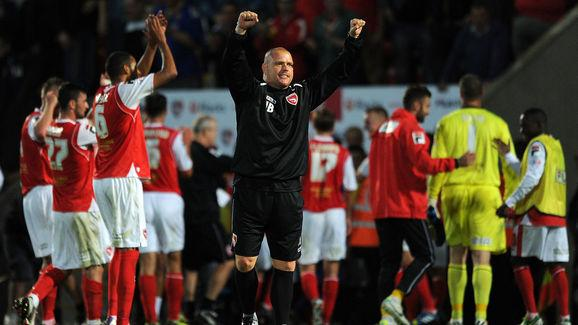 ture Jim Bentley, manager of League Two side Morecambe, has offered a free pie and a pint to all fans - home and away - who attend the game against Cambridge United on February 11th. The gesture comes as a reward to the fans after they came together to raise the required £1k to pay the manager's FA fine after being sent to the stands during their 2-1 loss to Cheltenham Town in December.  Bentley, moved to tears by the gesture, received the fine at a time where the football club are facing...