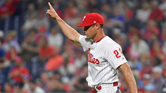 <p>Before the Phillies fell to their ninth straight loss Friday night, 10-2 to the Braves, the team held a big meeting upstairs. By Jim Salisbury </p>