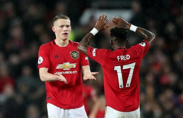 McTominay and Fred provided stability in midfield