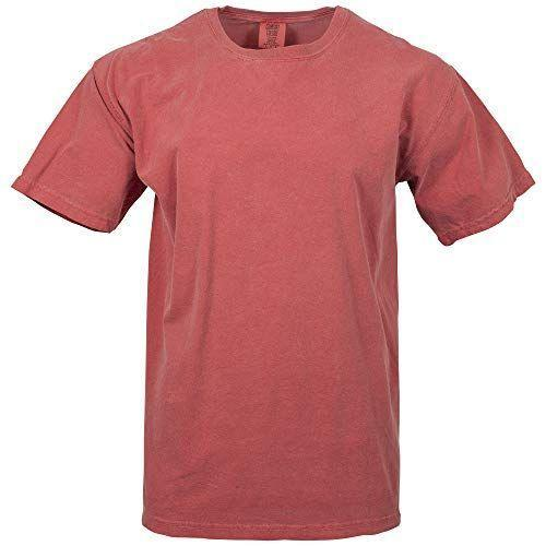"""<p><strong>Comfort Colors</strong></p><p>amazon.com</p><p><strong>$9.13</strong></p><p><a href=""""https://www.amazon.com/dp/B07M5HDXLY?tag=syn-yahoo-20&ascsubtag=%5Bartid%7C10054.g.37680729%5Bsrc%7Cyahoo-us"""" rel=""""nofollow noopener"""" target=""""_blank"""" data-ylk=""""slk:Shop Now"""" class=""""link rapid-noclick-resp"""">Shop Now</a></p><p>With 45 years in business, almost exclusively making tees, Comfort Colors has very mastered how to make the most, well, comfortable tees in, you guessed it, every color. It has a devoted fan base for a reason. </p>"""