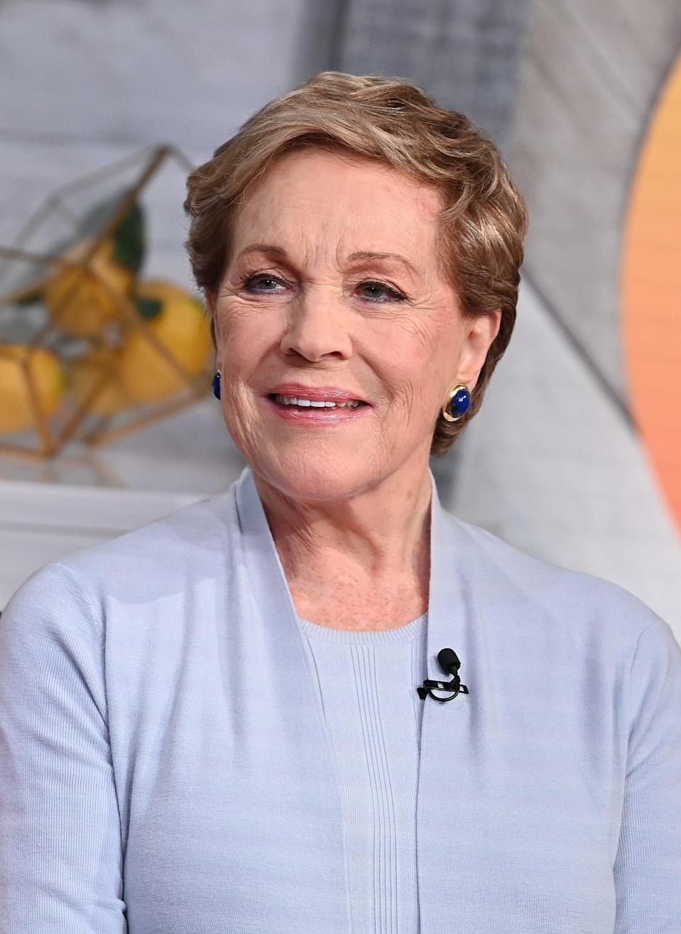"<p>Best known for <strong>The Sound of Music </strong>and <strong>Mary Poppins</strong>, Julie Andrews was introduced to a new generation with this 2001 millennial classic. Always a queen, Andrews brought her regal sophistication to this year's <strong><a href=""https://www.popsugar.com/latest/Bridgerton"" class=""link rapid-noclick-resp"" rel=""nofollow noopener"" target=""_blank"" data-ylk=""slk:Bridgerton"">Bridgerton</a> </strong>Netflix series. The 85-year-old icon still flexes her stunning singing voice in animation roles like <strong>Shrek </strong>and the upcoming <strong>Minions: The Rise of Gru.</strong></p>"