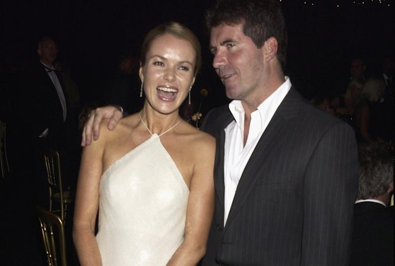 Amanda Holden and Simon Cowell have worked together for many years, having first joined 'Britain's Got Talent' together back in 2007 (Dave Benett/Getty Images)