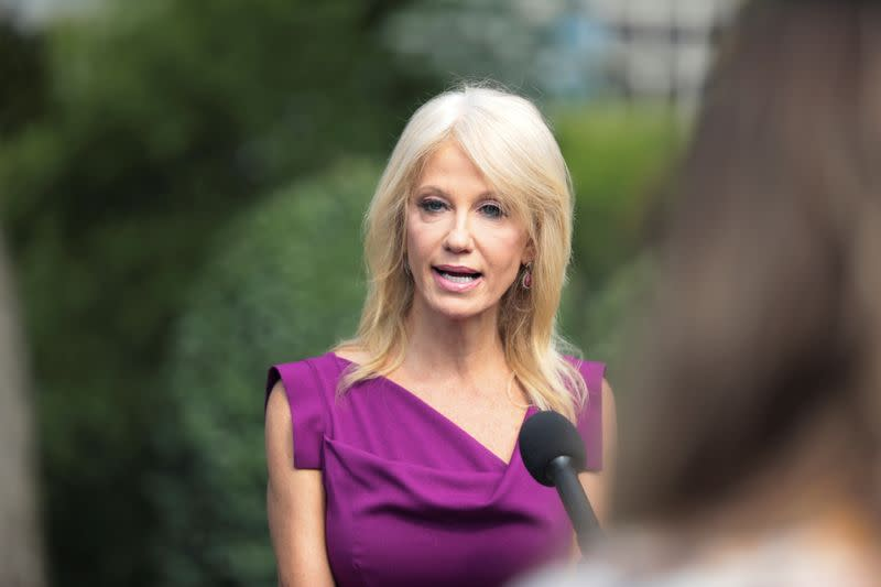 White House adviser Conway's departure a blow to Trump as election looms