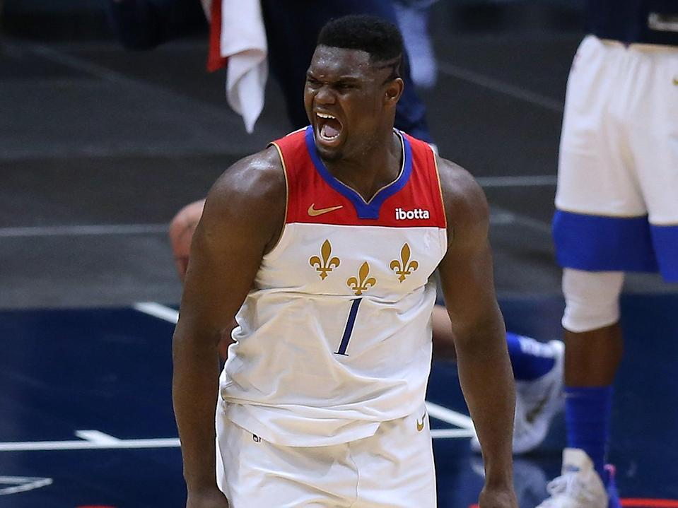 New Orleans Pelican power forward Zion Williamson (Getty Images)