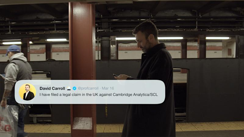 <i>The Great Hack</i> (2019) - pictured: David Carroll (Netflix)