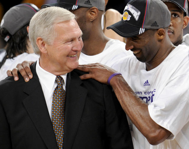 Jerry West laid the groundwork for Kobe Bryant's Lakers career. (AP Photo/Kevork Djansezian)
