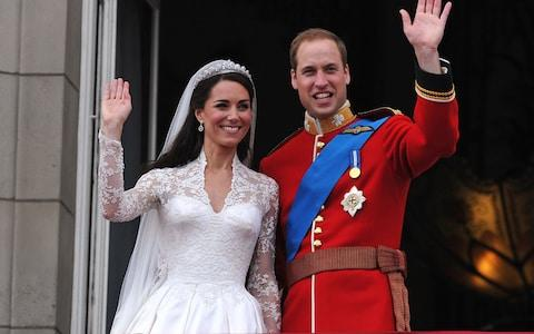 The Duke and Duchess of Cambridge - Credit: AFP