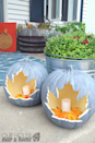 "<p>We're loving the gray pumpkin look alone, but the leaf-shaped carving makes these decorations totally front porch-worthy. </p><p><strong>Get the tutorial at <a href=""http://ourhousenowahome.com/2016/10/diy-pumpkin-craft-simple-project-for-fall.html"" rel=""nofollow noopener"" target=""_blank"" data-ylk=""slk:Our House Now a Home"" class=""link rapid-noclick-resp"">Our House Now a Home</a>.</strong></p><p><strong><a class=""link rapid-noclick-resp"" href=""https://www.amazon.com/Cutting-knife-carving-general-purpose/dp/B071WCH6T4/?tag=syn-yahoo-20&ascsubtag=%5Bartid%7C10050.g.279%5Bsrc%7Cyahoo-us"" rel=""nofollow noopener"" target=""_blank"" data-ylk=""slk:SHOP CARVING TOOLS"">SHOP CARVING TOOLS</a><br></strong></p>"