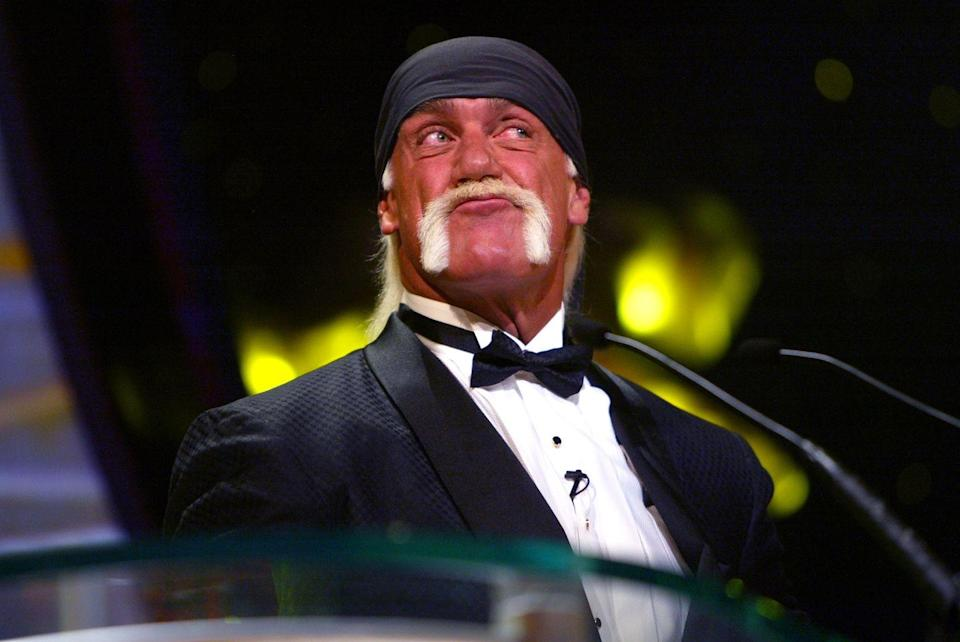 <p>The most famous WWE wrestler of all time just happens to have the most instantly recognizable mustache of his generation thanks to the bleach blonde color and dramatic horseshoe shape.</p>