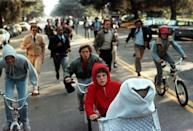 <p><strong><em>E.T. The Extra Terrestrial</em></strong></p><p>This 1982 classic was the highest-grossing film of all time <em>for</em> <em>years</em>, until some big dinosaurs knocked it out of the top spot. This hit film is all about an adorable alien who happens to crash land in California and the kid who rescues him from jerks. </p>