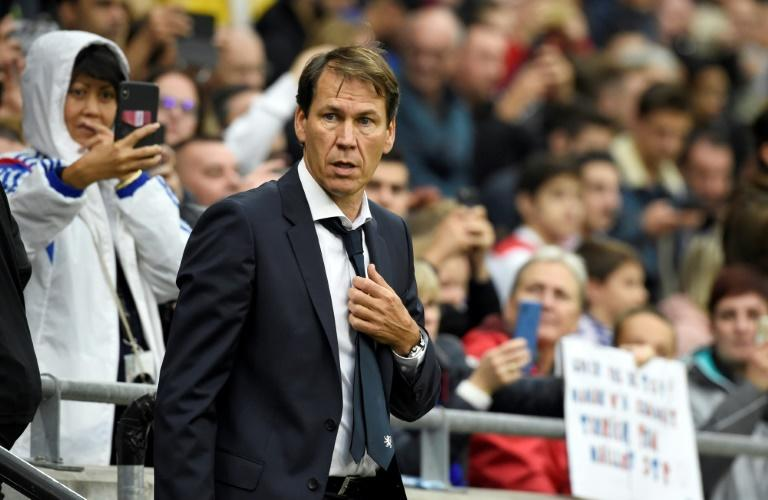 Garcia was jeered by his new club's fans as Lyon stumbled to a goalless draw with Dijon