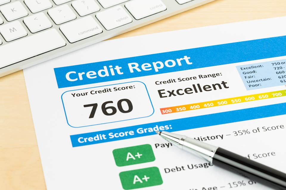Generally, information remains on your credit report for seven years. If you file for bankruptcy, that information may remain on your report for up to 10 years. (Photo: Getty Creative)