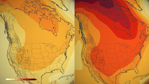NASA Video: Watch US Heat Up by 2100