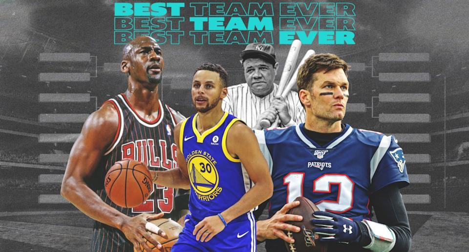 Which team had the best season ever sport-by-sport? We're about to find out. (Yahoo Sports illustration)