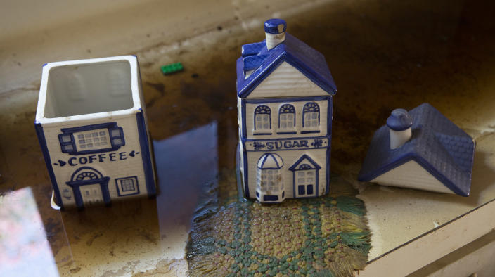 Cookie jars are seen at the Koser home on Sept. 7. (Photo: Erich Schlegel for Yahoo News)