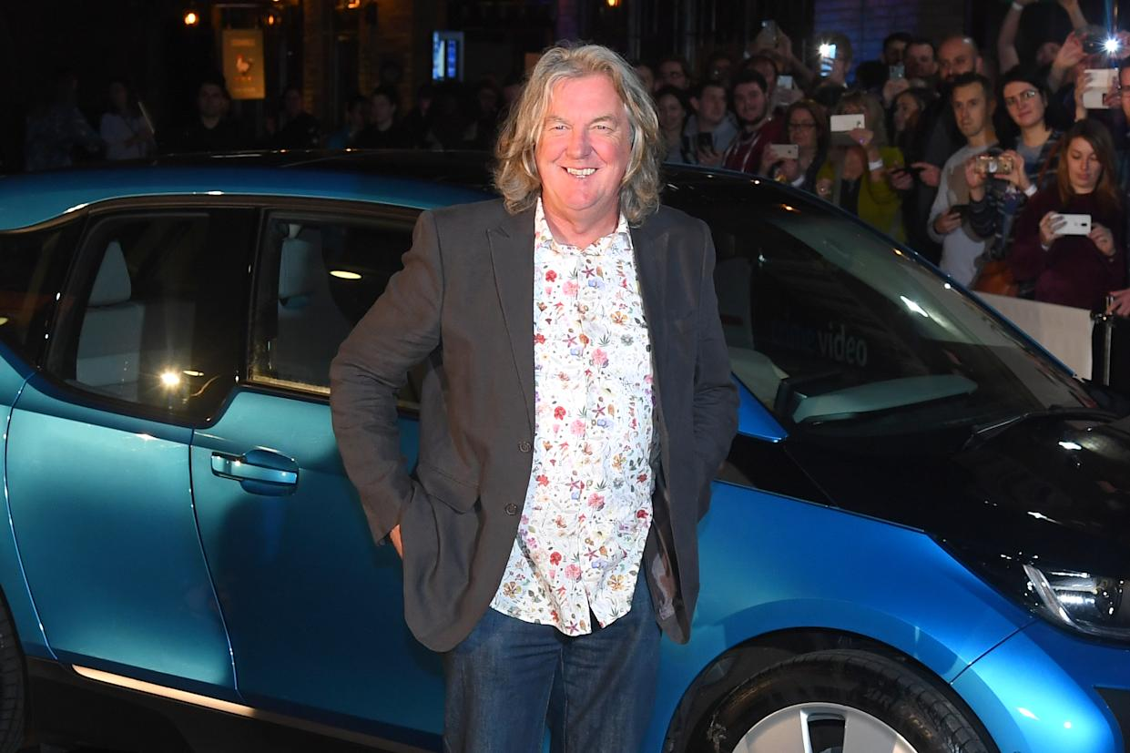 LONDON, ENGLAND - JANUARY 15: James May attends a screening of 'The Grand Tour' season 3 held at The Brewery on January 15, 2019 in London, England. (Photo by Dave J Hogan/Getty Images)