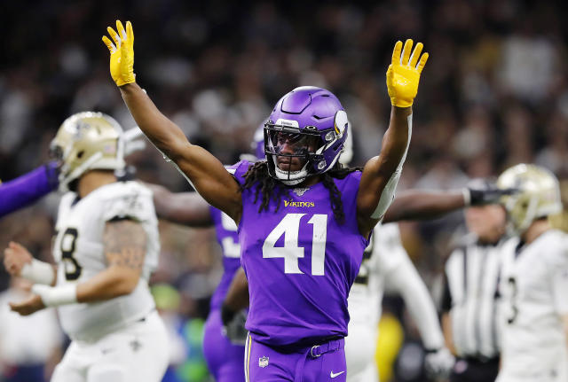 Anthony Harris reportedly signed his franchise tender on Sunday, and wants to stay with the Vikings long term. (Photo by Kevin C. Cox/Getty Images)