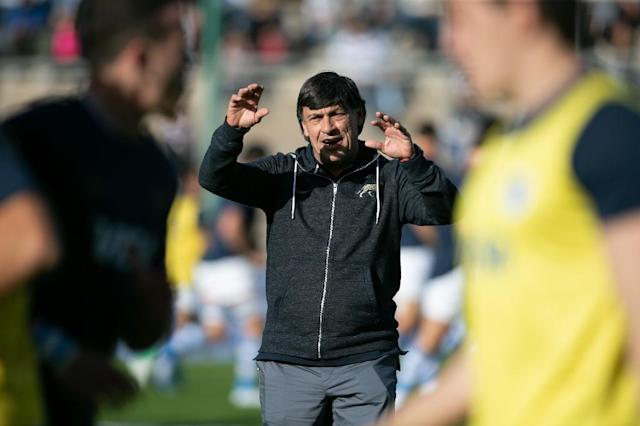 Hourcade had been in charge of the Pumas since 2013 (AFP Photo/Juan José Gasparini)