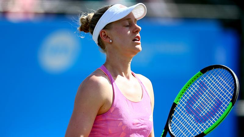 Riske eliminated but Linette survives in Bogota