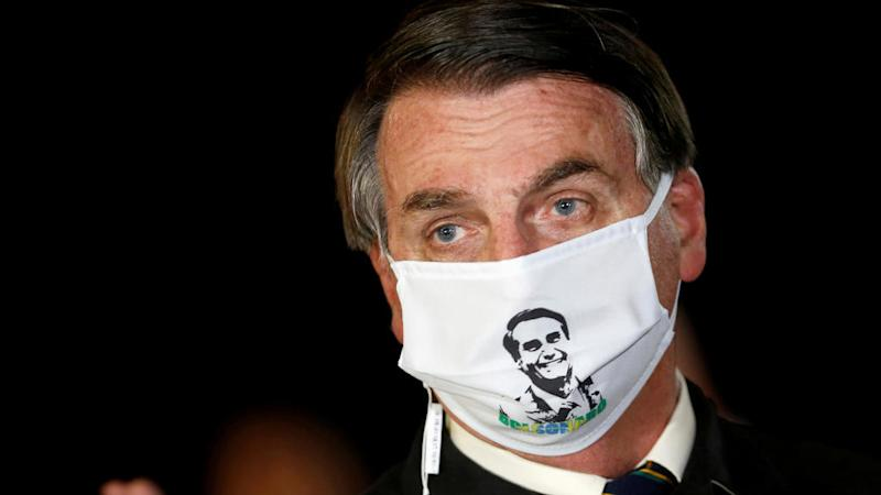 Brazil's Bolsonaro boasts about taking 'miraculous' hydroxychloroquine for Covid-19
