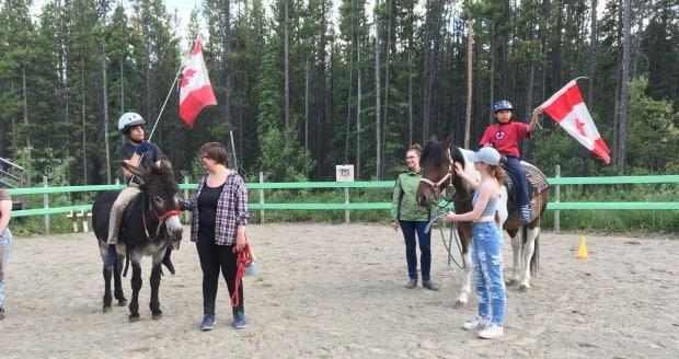 Freedom Trails Therapeutic Riding Association is one of 16 organizations to get some of the funding. (Submitted by Judy Fortin - image credit)
