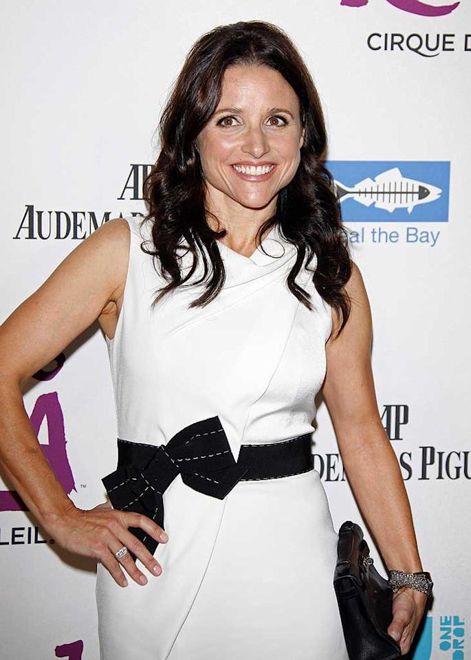 "January 13: Julia Louis-Dreyfus turns 50 Jean Baptiste Lacroix/<a href=""http://www.wireimage.com"" target=""new"">WireImage.com</a> - October 16, 2009"